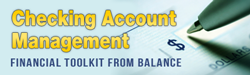 Management of Checking Account