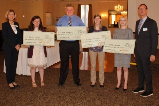 First Commonwealth scholarship winners