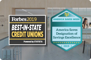 Pennsylvania 2019 Best In State Credit Union by Forbes