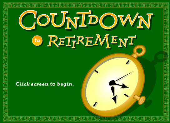 Online Game - Countdown to Retirement