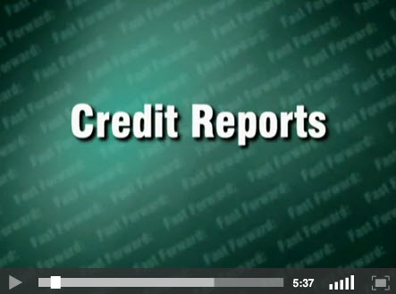 Credit Reports- title screen for video