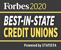 Forbes 2020 Best in State credit unions