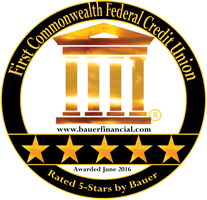 Rated 5-Stars by Bauer Financial